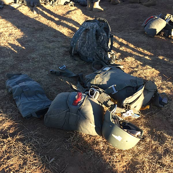Parachute gear and equipment