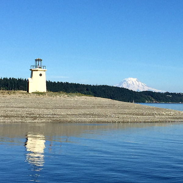 Lighthouse in Gig Harbor