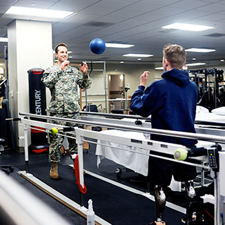 The Military has a commitment to work-life balance for its physicians.